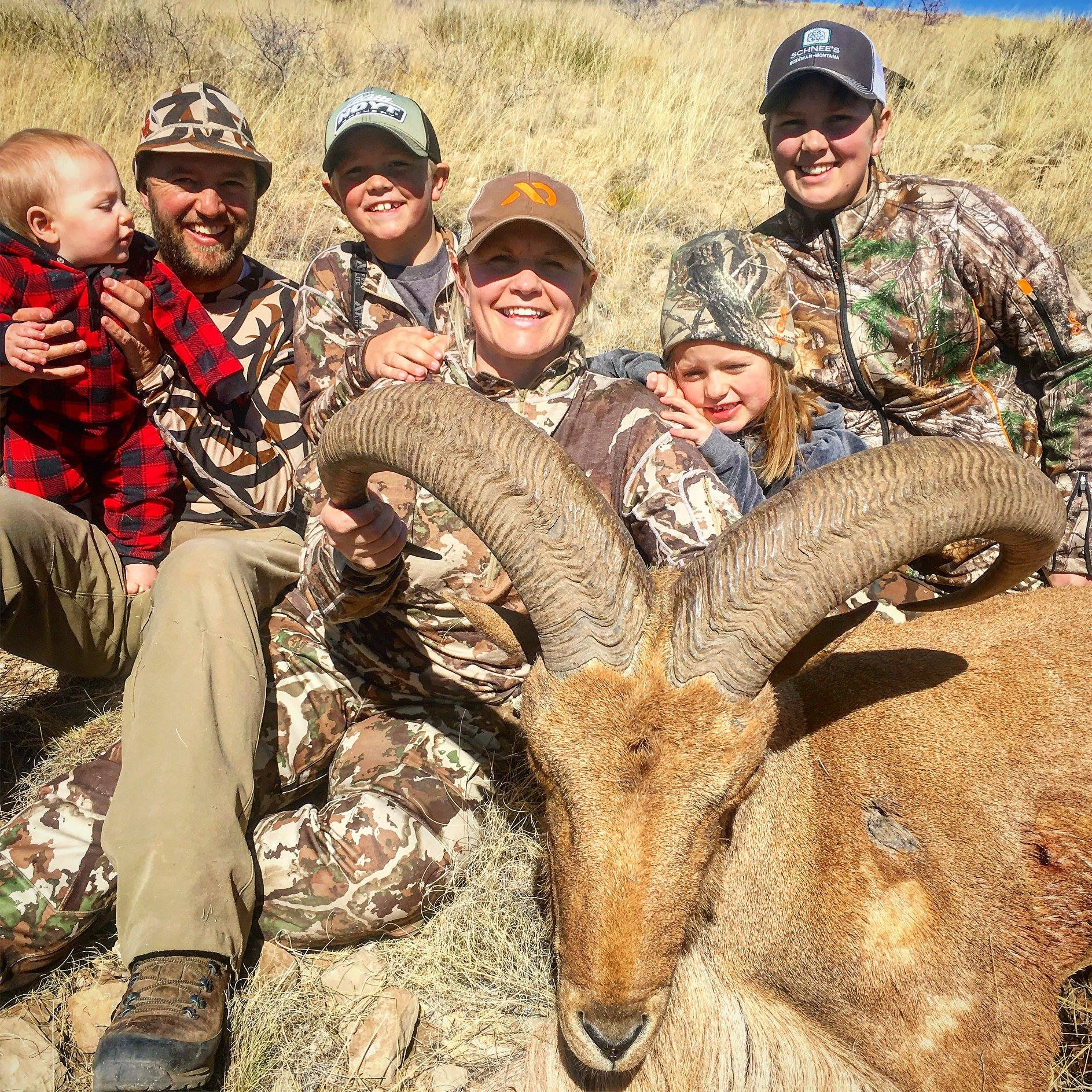 aoudad hunt texas - G3 Outfitters