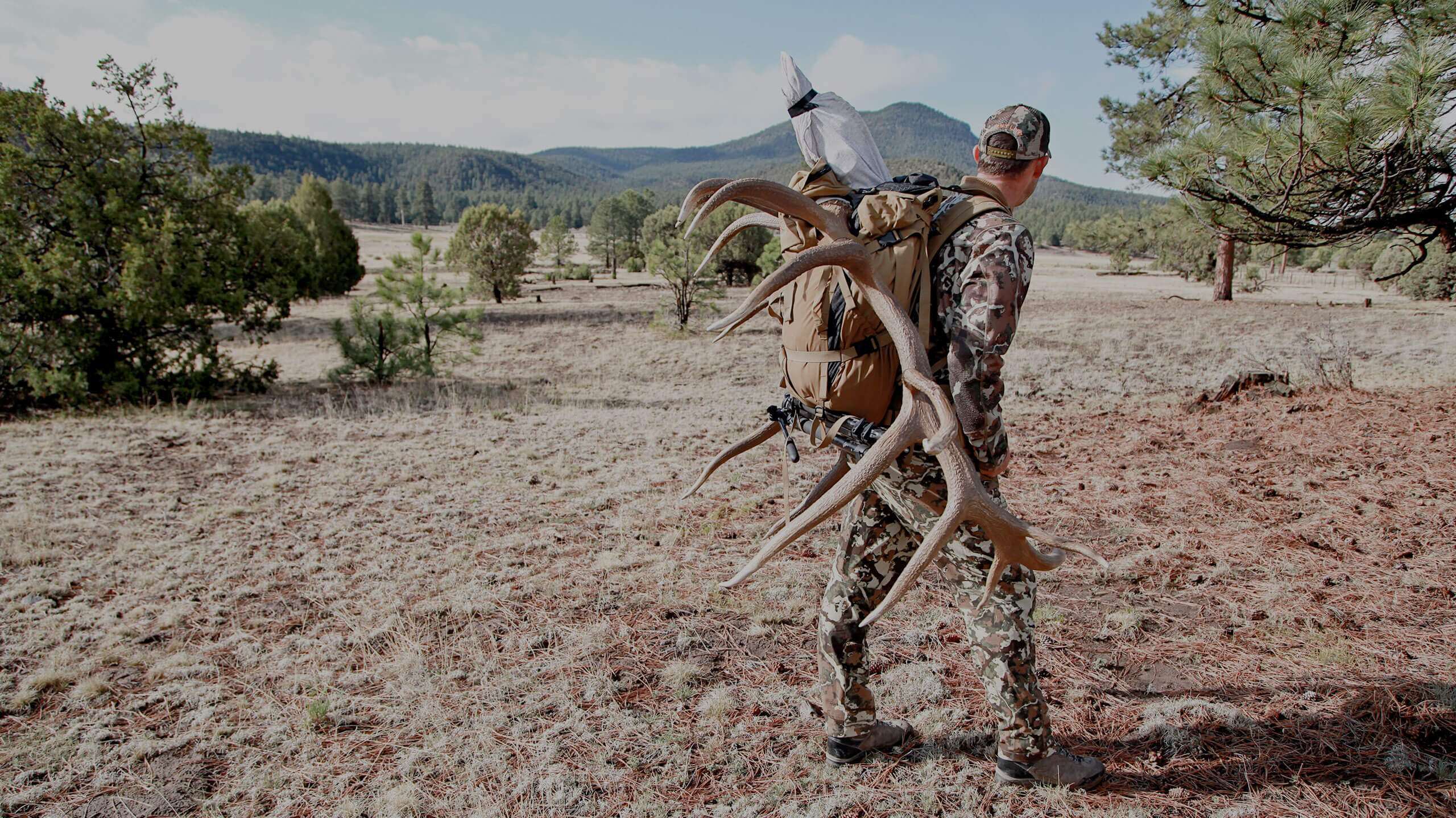 packing out a record elk in New Mexico - G3 Outfitters